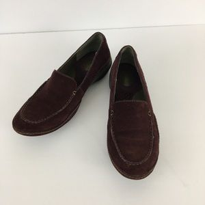Privo by Clark's Suede Moccasin Toe Loafers 9M